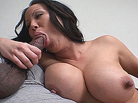 Voluminous breast asian babe loves extreme sex.